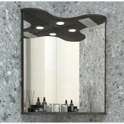 Зеркало Francesca Империя 65 угловое венге купить в Москве по цене от 5430р. в интернет-магазине mebel-v-vannu.ru