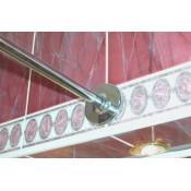 Карниз для ванны 1Marka Classic 120х70 см прямой купить в Москве по цене от 1300р. в интернет-магазине mebel-v-vannu.ru