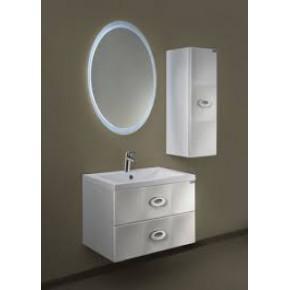 Комплект мебели Aima Carre 75П 2в.я. White подвесной