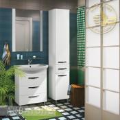 Комплект мебели Акватон Ария 65 Н белый купить в Москве по цене от 20651р. в интернет-магазине mebel-v-vannu.ru