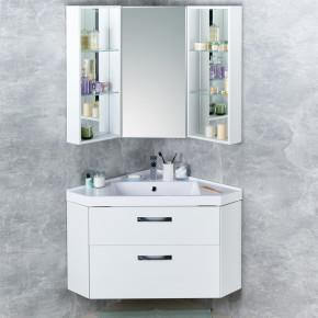 Комплект мебели Акватон Кантара 78 дуб полярный, подвесная