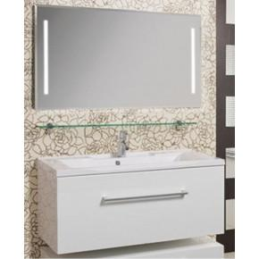 Комплект мебели Акватон Мадрид 120 белый с ящиком