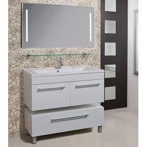 Комплект мебели Акватон Мадрид 120 белый с 2 ящиками
