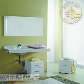 Комплект мебели Акватон Отель 120 левый
