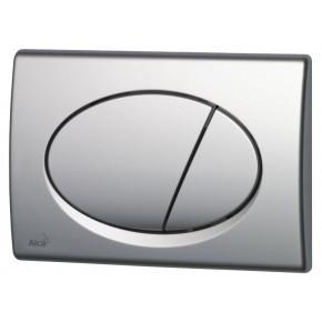 Кнопка смыва AlcaPlast ALCA M71 хром глянцевый