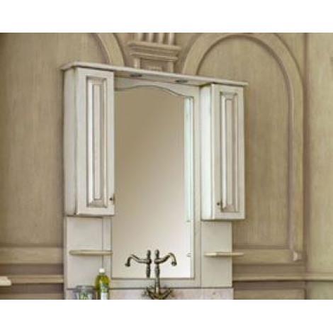Зеркало-шкаф Аллигатор Капан H(D) 110 купить в Москве по цене от 38250р. в интернет-магазине mebel-v-vannu.ru