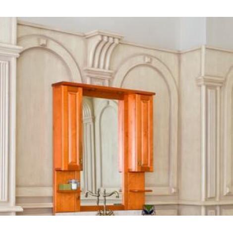 Зеркало-шкаф Аллигатор Капан A(D) 100 купить в Москве по цене от 35500р. в интернет-магазине mebel-v-vannu.ru