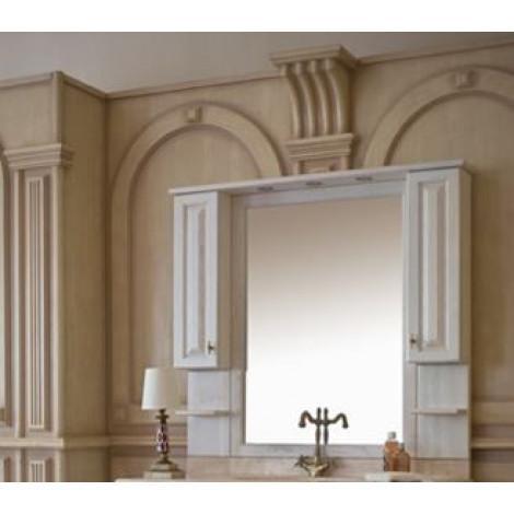 Зеркало-шкаф Аллигатор Капан B(D) 120 купить в Москве по цене от 42800р. в интернет-магазине mebel-v-vannu.ru