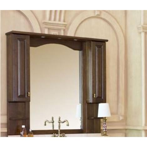 Зеркало-шкаф Аллигатор Капан C(D) 120 купить в Москве по цене от 42800р. в интернет-магазине mebel-v-vannu.ru