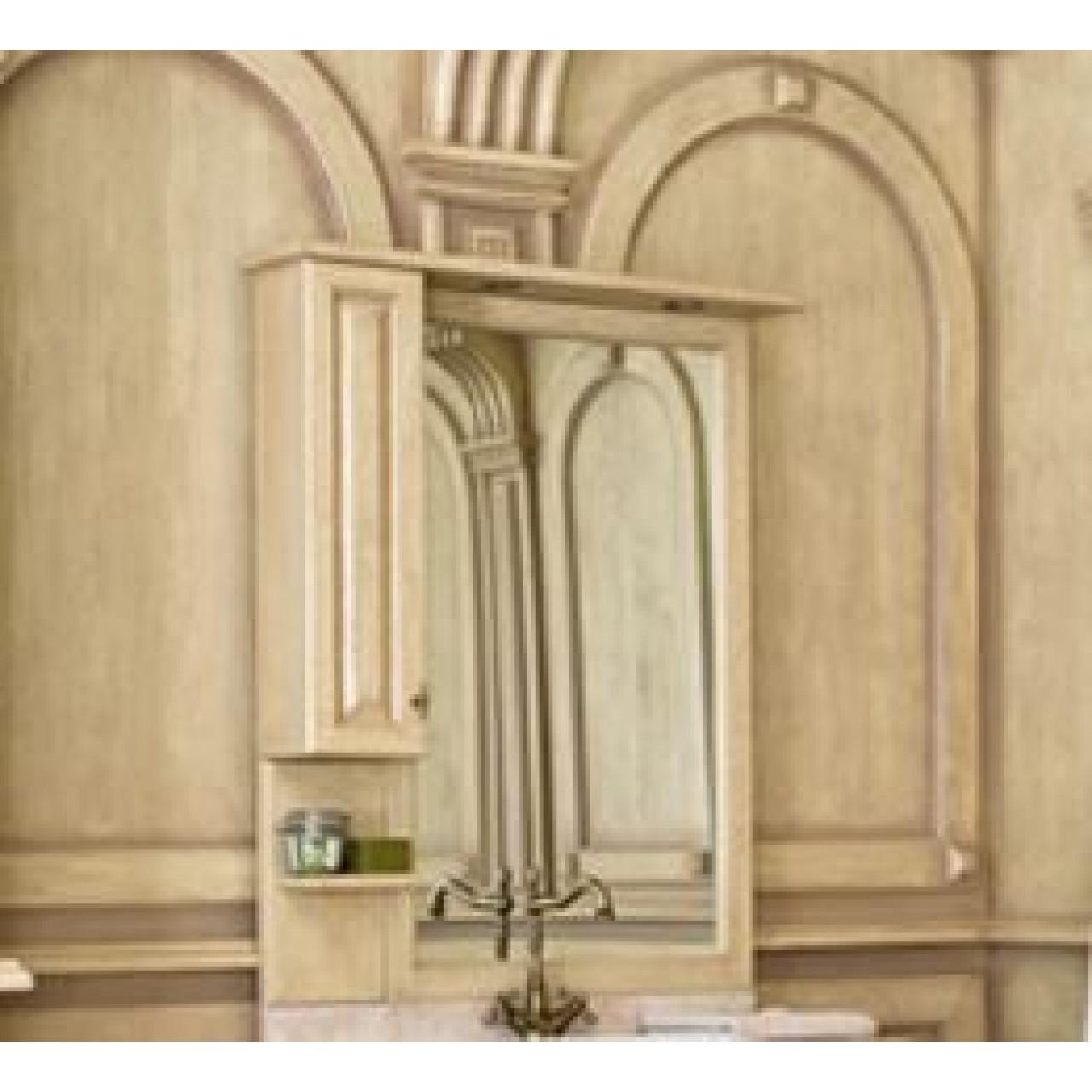 Зеркало-шкаф Аллигатор Капан G(D) 90 купить в Москве по цене от 30000р. в интернет-магазине mebel-v-vannu.ru