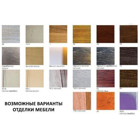 Комплект мебели Аллигатор Классик 55A зеркало в раме купить в Москве по цене от 71600р. в интернет-магазине mebel-v-vannu.ru