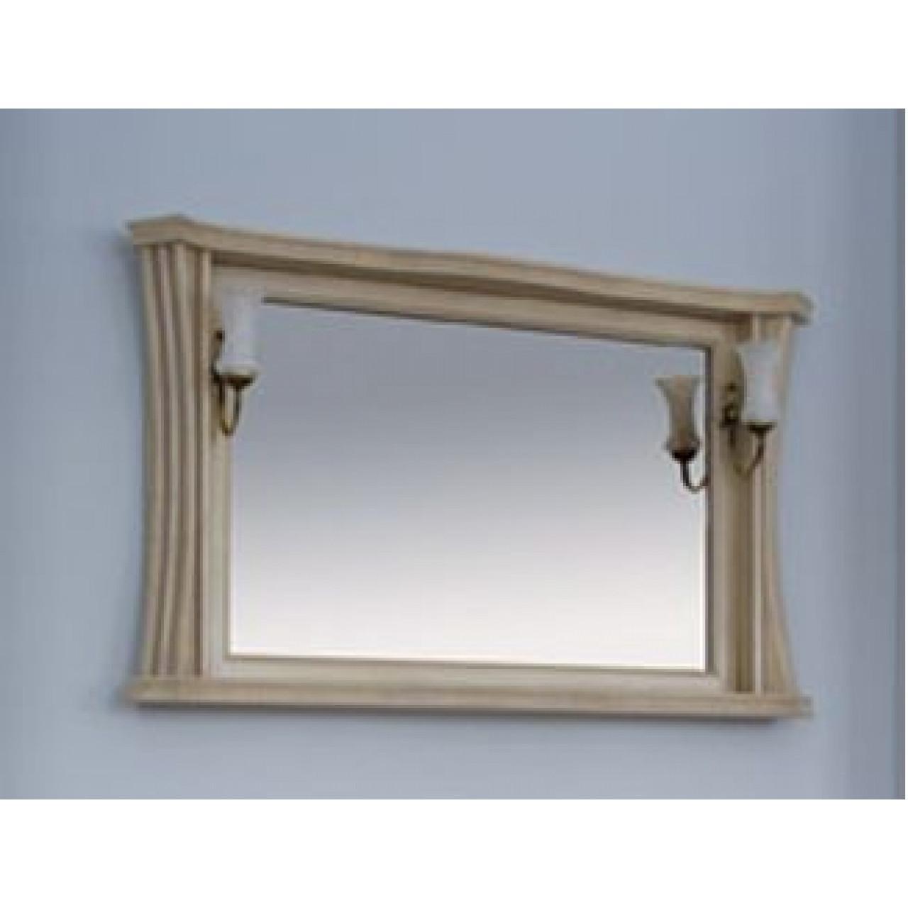 Зеркало Аллигатор Классик 125 в раме купить в Москве по цене от 17300р. в интернет-магазине mebel-v-vannu.ru