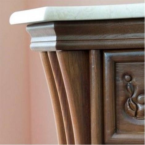 Комплект мебели Аллигатор Классик 125B зеркало со шкафчиками купить в Москве по цене от 181500р. в интернет-магазине mebel-v-vannu.ru
