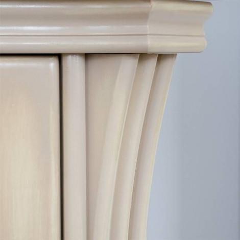 Комплект мебели Аллигатор Классик 125A зеркало на столешнице купить в Москве по цене от 183600р. в интернет-магазине mebel-v-vannu.ru