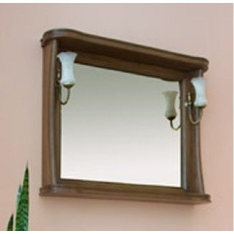 Зеркало Аллигатор Классик 100 в раме купить в Москве по цене от 12800р. в интернет-магазине mebel-v-vannu.ru