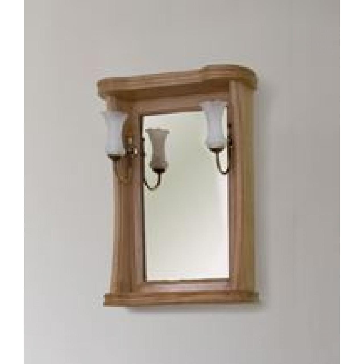 Зеркало Аллигатор Классик 55 в раме купить в Москве по цене от 8600р. в интернет-магазине mebel-v-vannu.ru