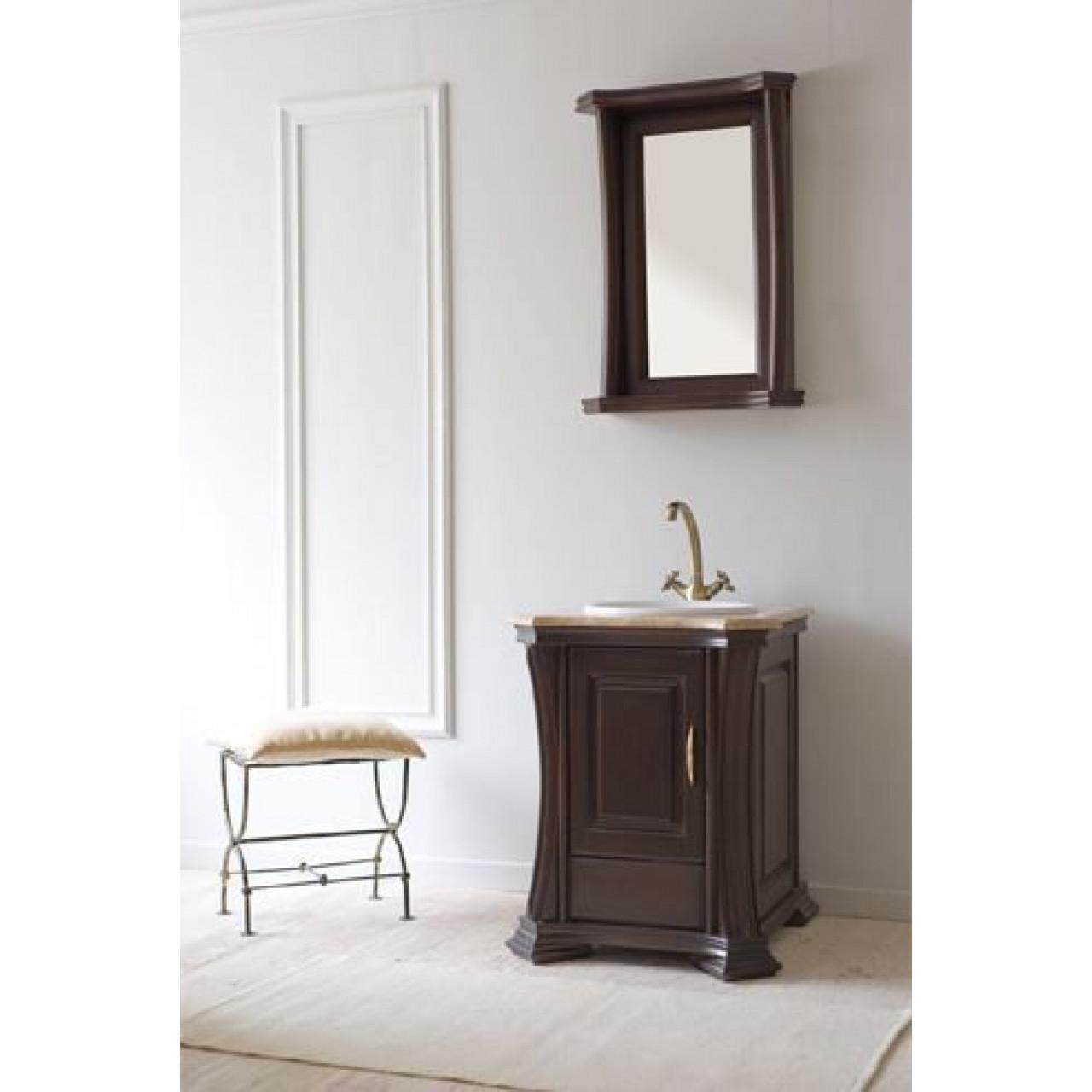 Комплект мебели Аллигатор Классик 55B зеркало в раме купить в Москве по цене от 65500р. в интернет-магазине mebel-v-vannu.ru
