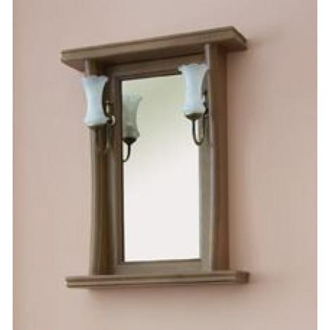 Зеркало Аллигатор Классик 60 в раме купить в Москве по цене от 8600р. в интернет-магазине mebel-v-vannu.ru