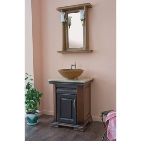Комплект мебели Аллигатор Классик 60A зеркало в раме купить в Москве по цене от 64500р. в интернет-магазине mebel-v-vannu.ru