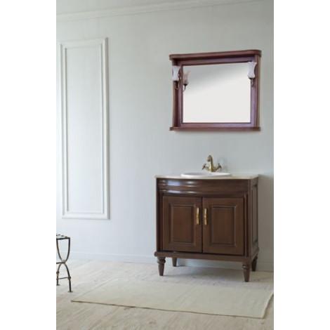 Комплект мебели Аллигатор Классик 80A зеркало в раме купить в Москве по цене от 79500р. в интернет-магазине mebel-v-vannu.ru