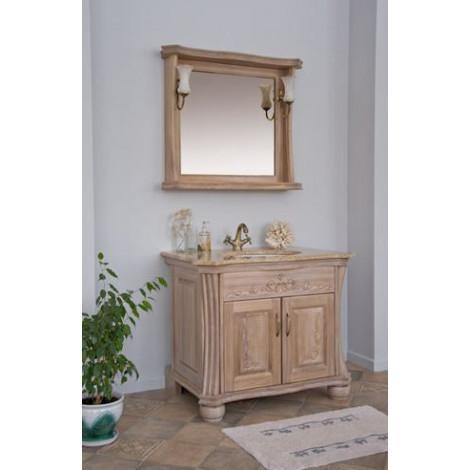 Комплект мебели Аллигатор Классик 90C зеркало в раме купить в Москве по цене от 92100р. в интернет-магазине mebel-v-vannu.ru