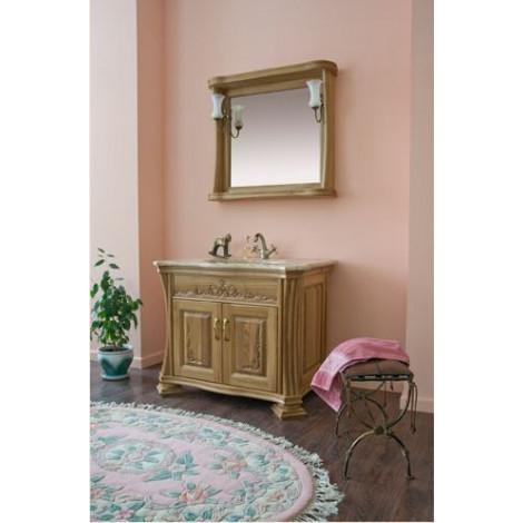 Комплект мебели Аллигатор Классик 90D зеркало в раме купить в Москве по цене от 92100р. в интернет-магазине mebel-v-vannu.ru