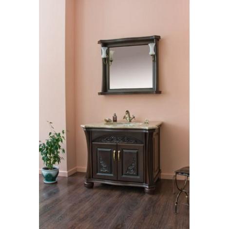 Комплект мебели Аллигатор Классик 90E зеркало в раме купить в Москве по цене от 92100р. в интернет-магазине mebel-v-vannu.ru