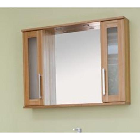 Зеркало-шкаф Аллигатор Поло 100A купить в Москве по цене от 10800р. в интернет-магазине mebel-v-vannu.ru