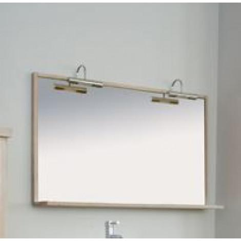 Зеркало Аллигатор Поло 130A купить в Москве по цене от 12800р. в интернет-магазине mebel-v-vannu.ru