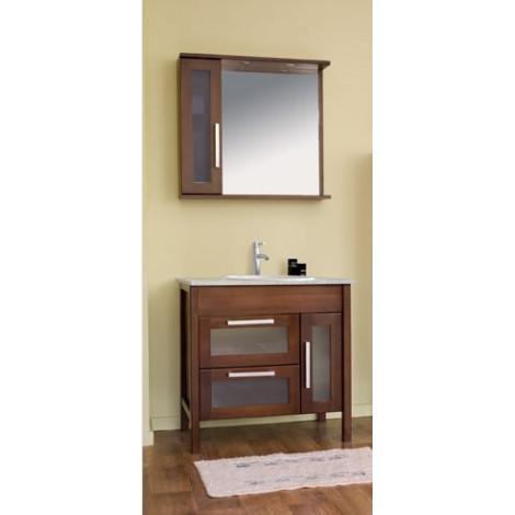 Комплект мебели Аллигатор Поло 80A купить в Москве по цене от 68500р. в интернет-магазине mebel-v-vannu.ru