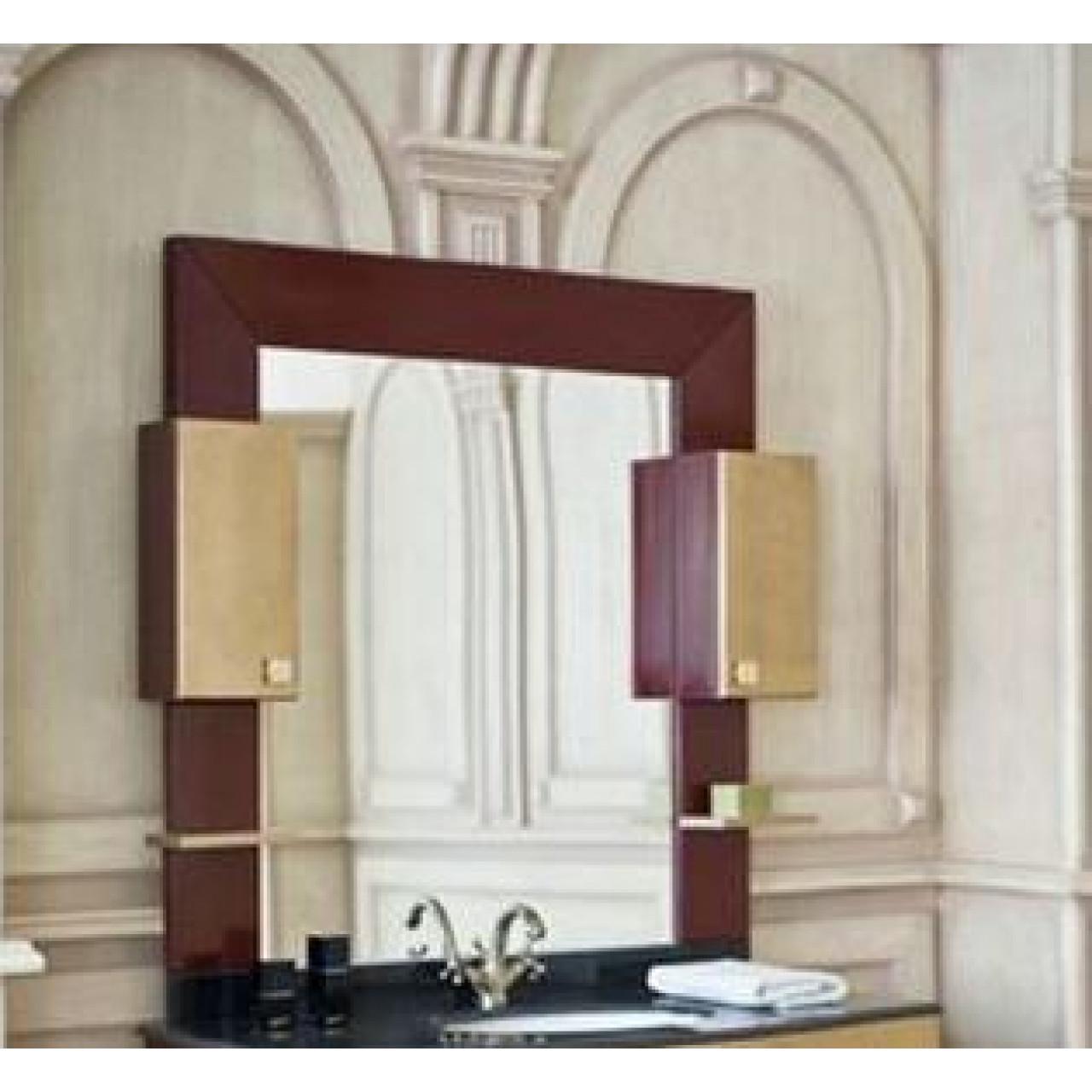 Зеркало-шкаф Аллигатор Квадро A 120 купить в Москве по цене от 22900р. в интернет-магазине mebel-v-vannu.ru