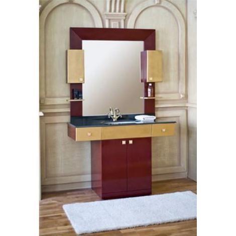 Комплект мебели Аллигатор Квадро B 120 купить в Москве по цене от 109200р. в интернет-магазине mebel-v-vannu.ru