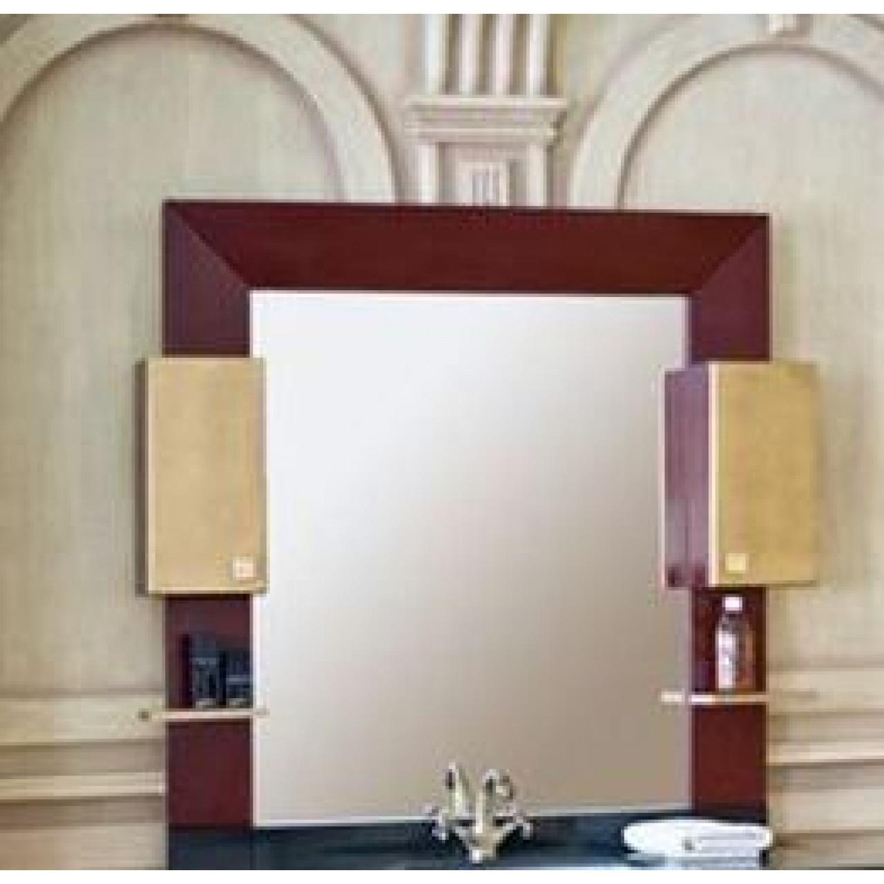 Зеркало-шкаф Аллигатор Квадро B 120 купить в Москве по цене от 22900р. в интернет-магазине mebel-v-vannu.ru