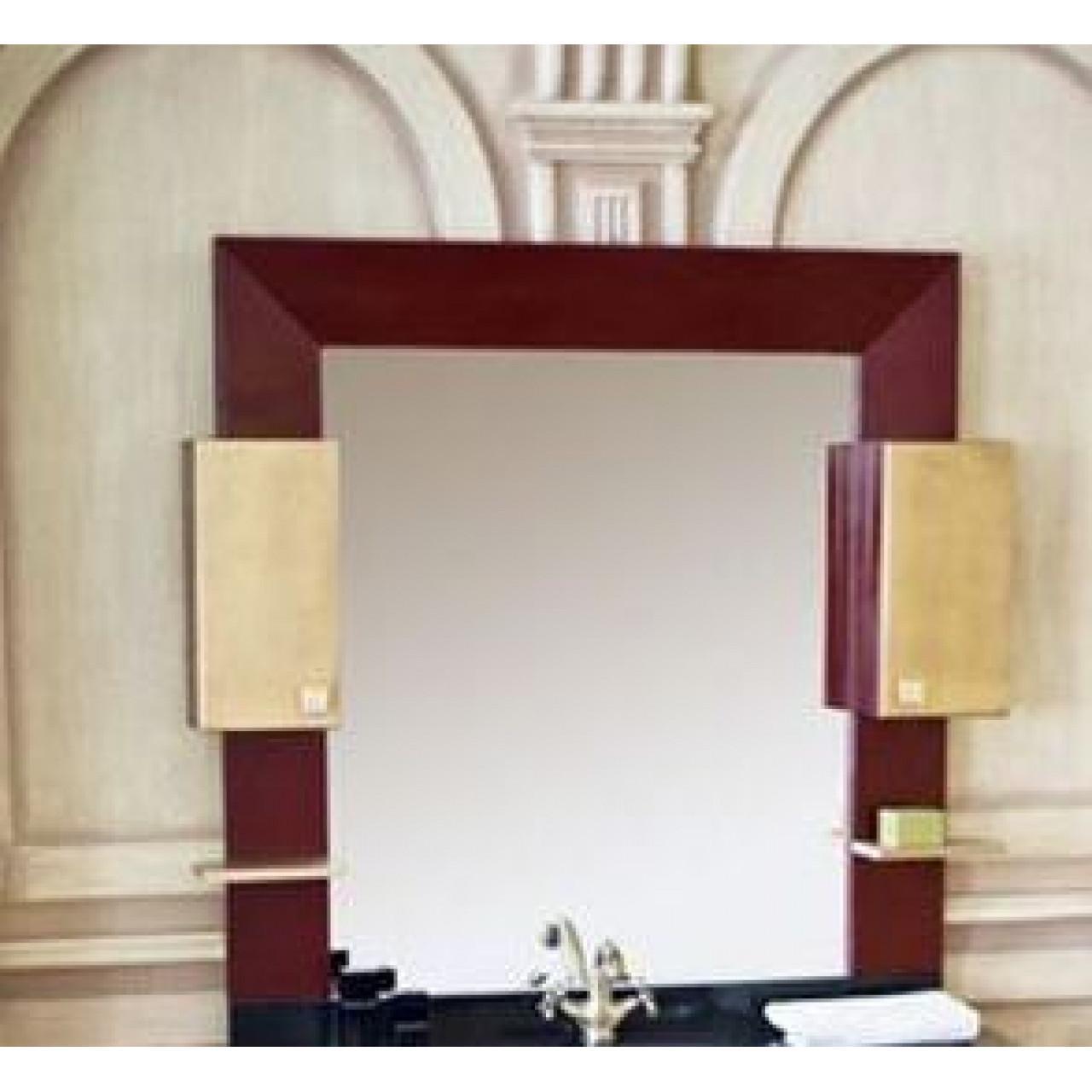 Зеркало-шкаф Аллигатор Квадро C 120 купить в Москве по цене от 22900р. в интернет-магазине mebel-v-vannu.ru