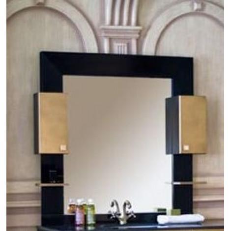 Зеркало-шкаф Аллигатор Квадро D 120 купить в Москве по цене от 21400р. в интернет-магазине mebel-v-vannu.ru