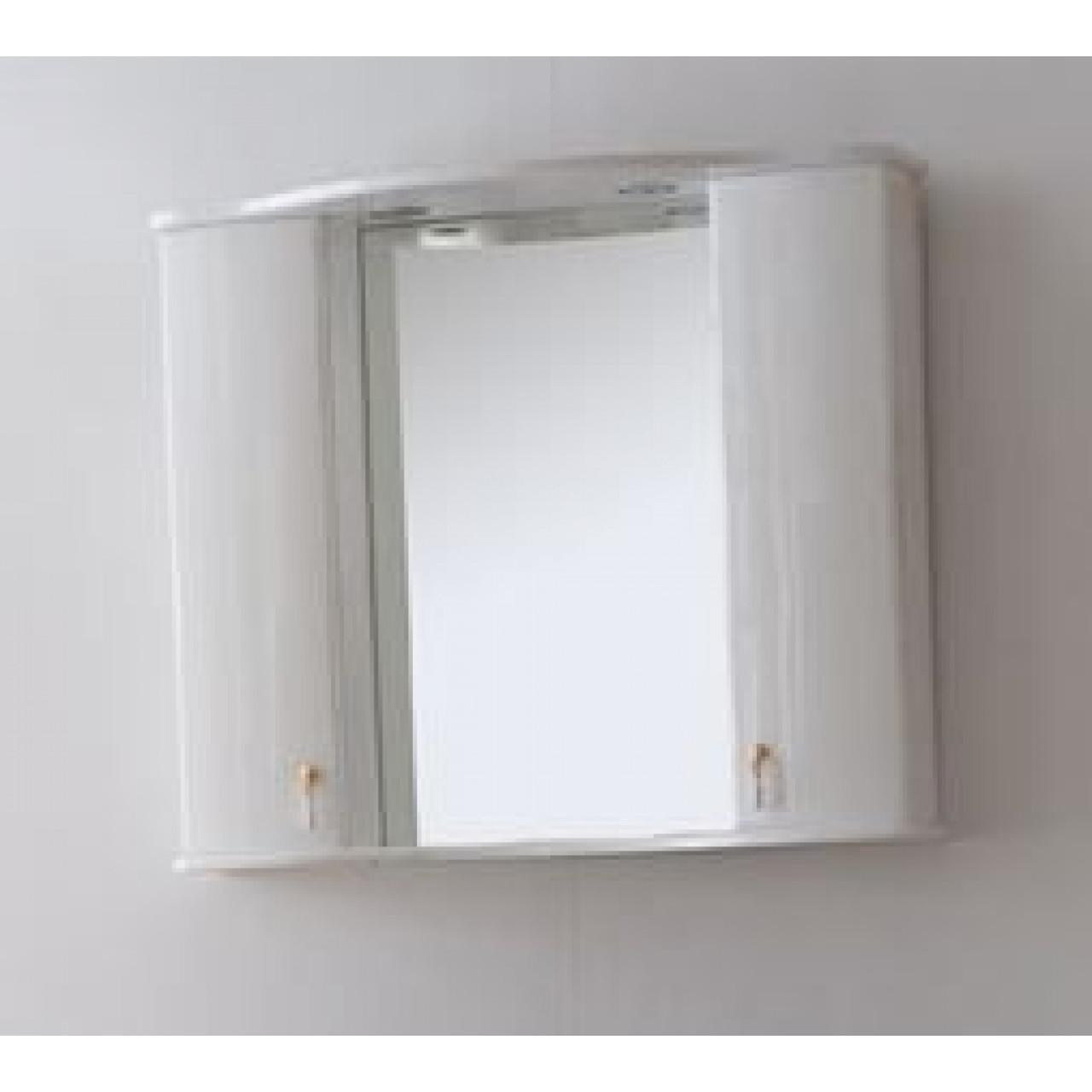 Зеркало-шкаф Аллигатор Роял Комфорт G(M) 80 купить в Москве по цене от 25800р. в интернет-магазине mebel-v-vannu.ru
