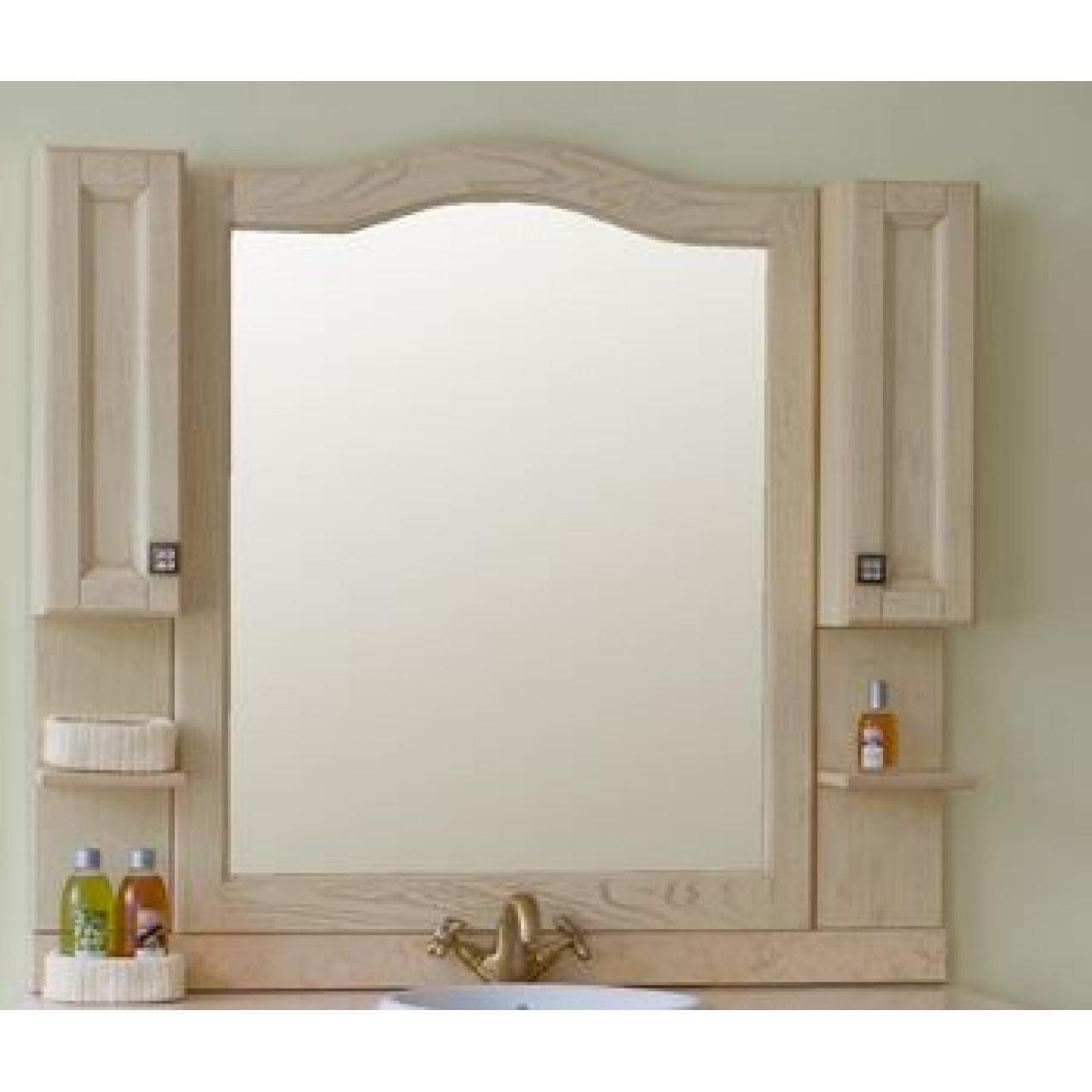 Зеркало-шкаф Аллигатор Ван 110A купить в Москве по цене от 38400р. в интернет-магазине mebel-v-vannu.ru
