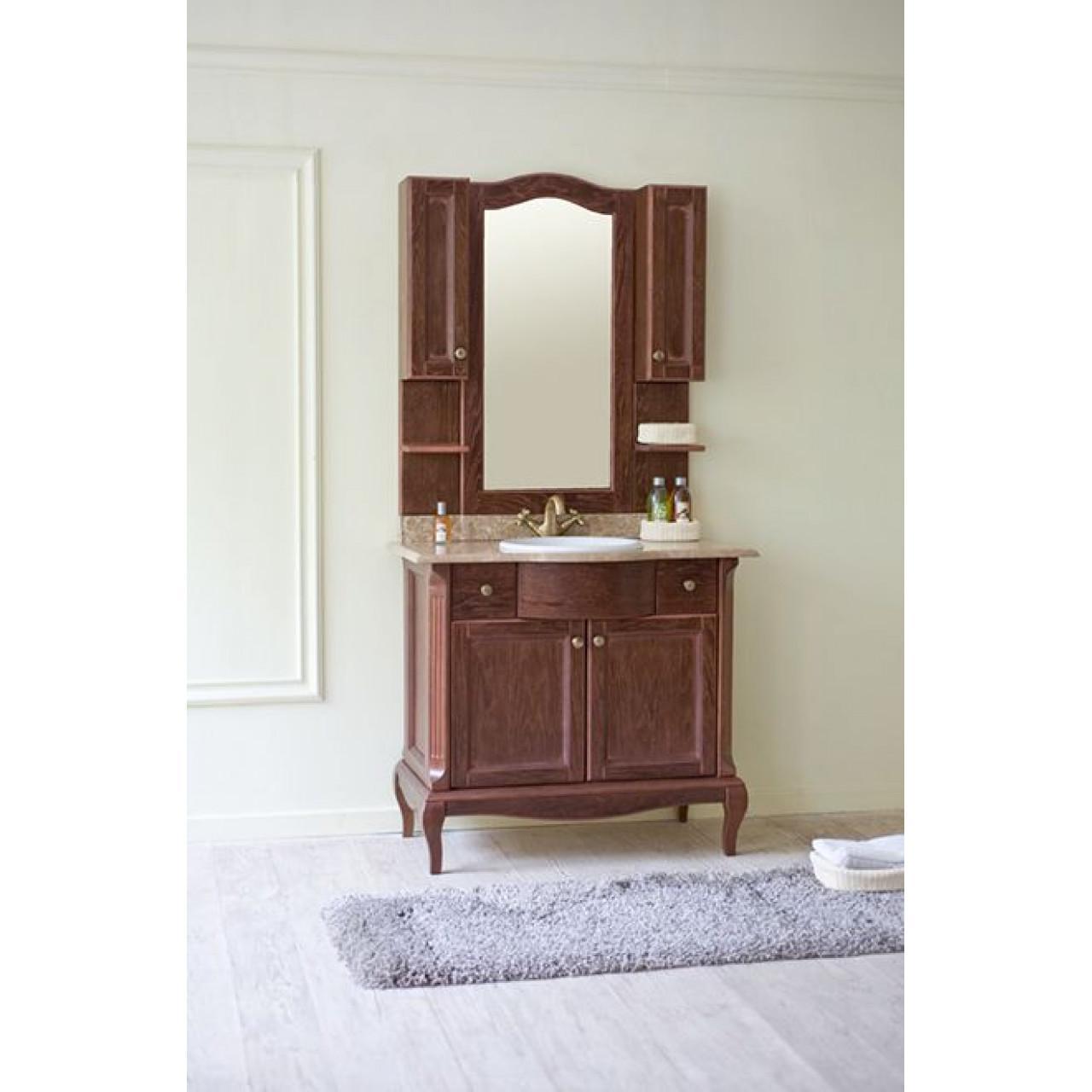 Комплект мебели Аллигатор Ван 90A купить в Москве по цене от 120000р. в интернет-магазине mebel-v-vannu.ru