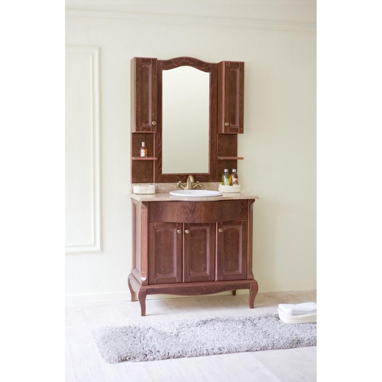 Комплект мебели Аллигатор Ван 90B купить в Москве по цене от 120000р. в интернет-магазине mebel-v-vannu.ru