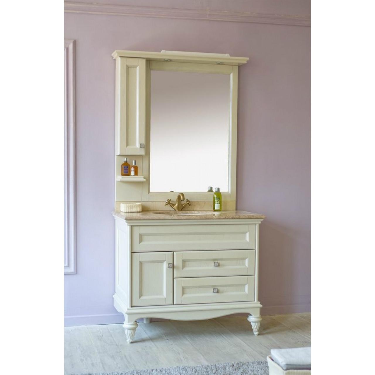 Комплект мебели Аллигатор Вито 100L (D) купить в Москве по цене от 160200р. в интернет-магазине mebel-v-vannu.ru