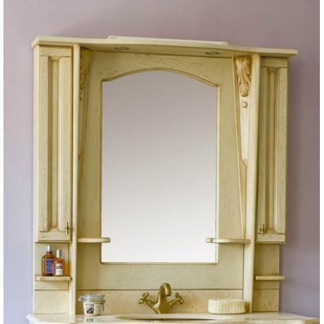 Зеркало-шкаф Аллигатор Вито 120B (D) купить в Москве по цене от 47000р. в интернет-магазине mebel-v-vannu.ru