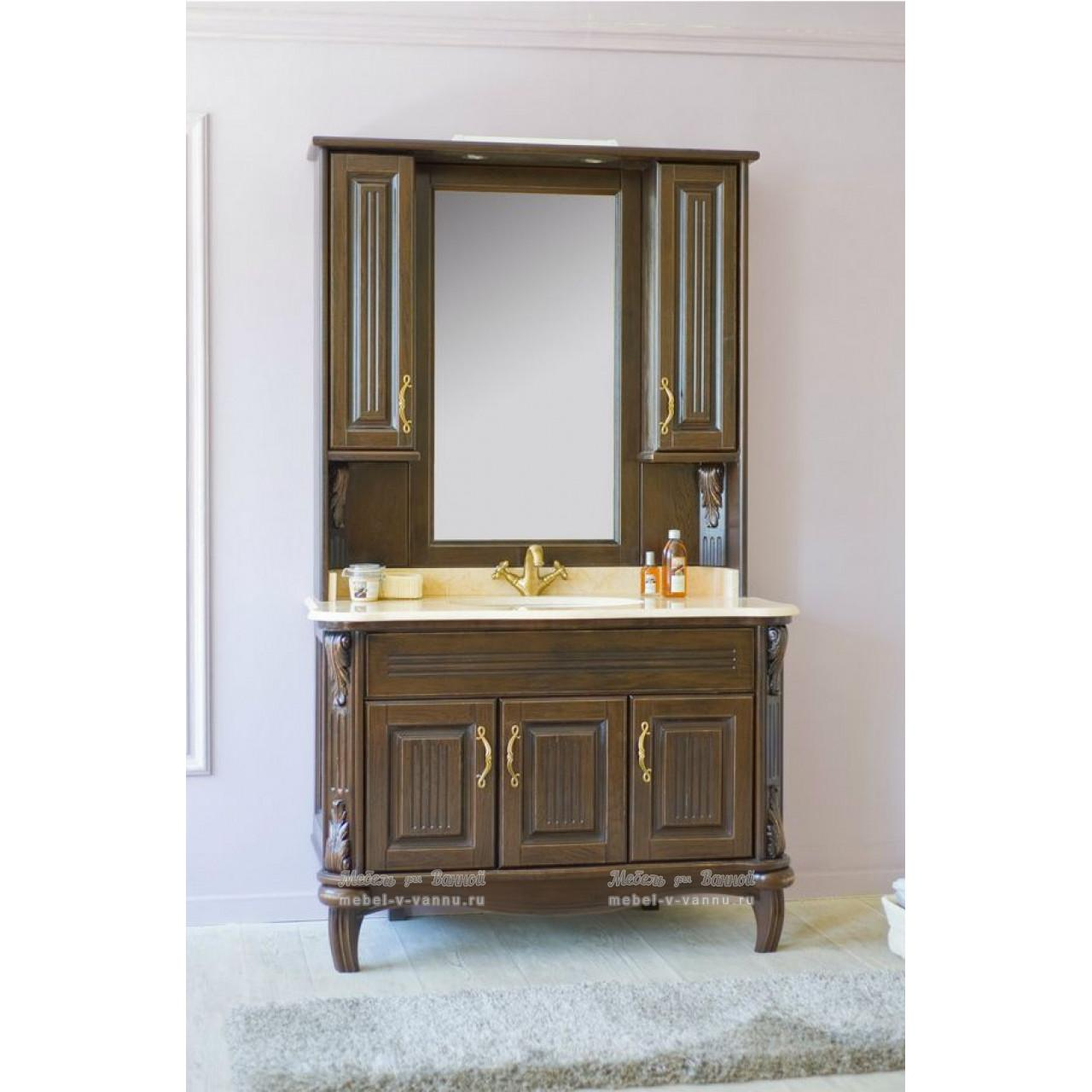 Комплект мебели Аллигатор Вито 120H (D) купить в Москве по цене от 192500р. в интернет-магазине mebel-v-vannu.ru