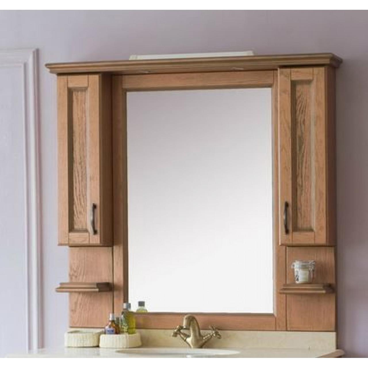 Зеркало-шкаф Аллигатор Вито 120M (D) купить в Москве по цене от 47000р. в интернет-магазине mebel-v-vannu.ru