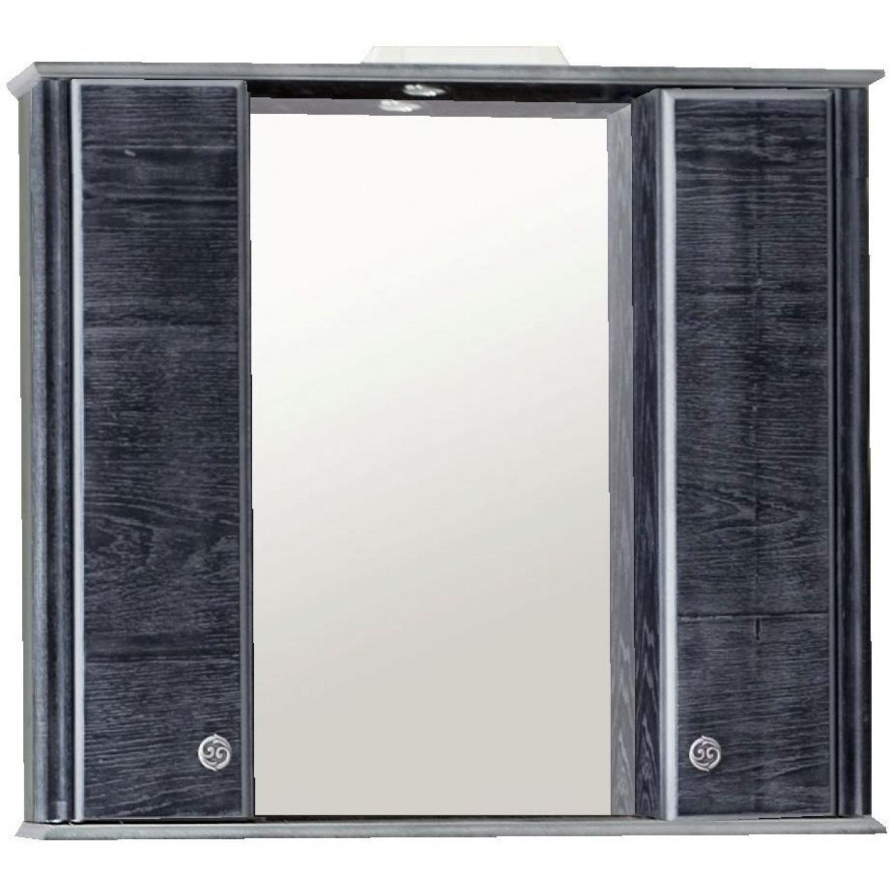Зеркало-шкаф Аллигатор Грант 2 85 купить в Москве по цене от 11600р. в интернет-магазине mebel-v-vannu.ru