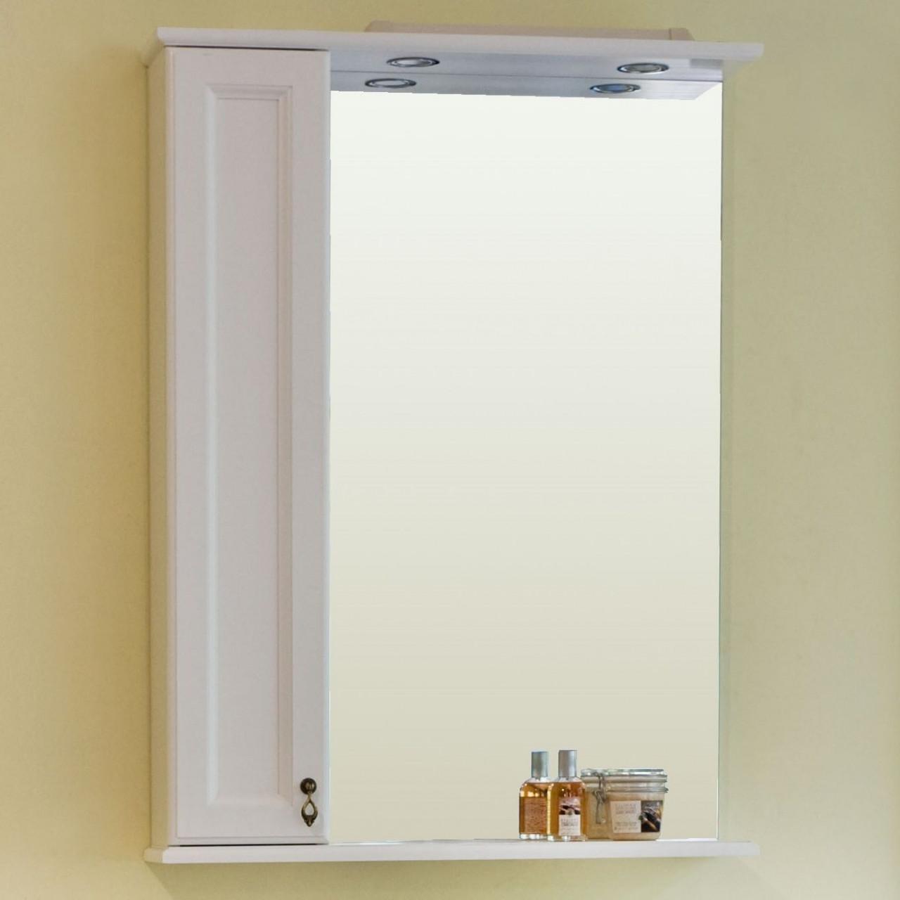 Зеркало-шкаф Аллигатор Милана 2 65 купить в Москве по цене от 8800р. в интернет-магазине mebel-v-vannu.ru