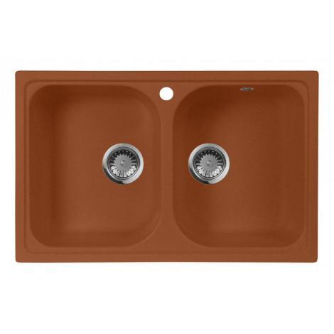 Мойка кухонная AquaGranitEx M-15 купить в Москве по цене от 6580р. в интернет-магазине mebel-v-vannu.ru