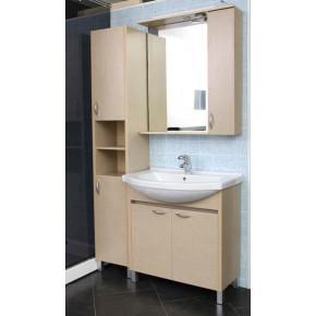 Комплект мебели Aquanet Донна 80 светлый дуб