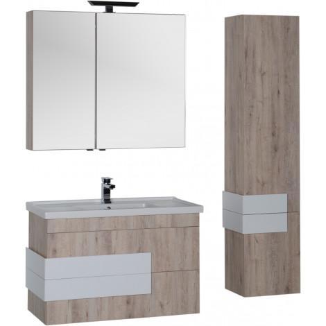 Зеркало-шкаф Aquanet Мадейра 100 00183067 купить в Москве по цене от 11879р. в интернет-магазине mebel-v-vannu.ru