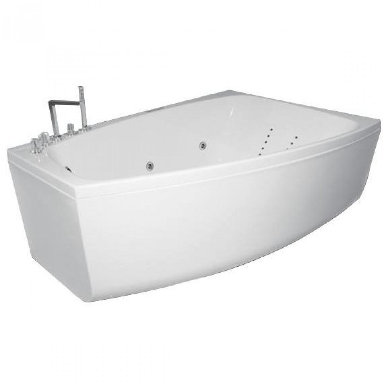 Акриловая ванна Акватика Альтея Reflexa 180x120x66 купить в Москве по цене от 139252р. в интернет-магазине mebel-v-vannu.ru
