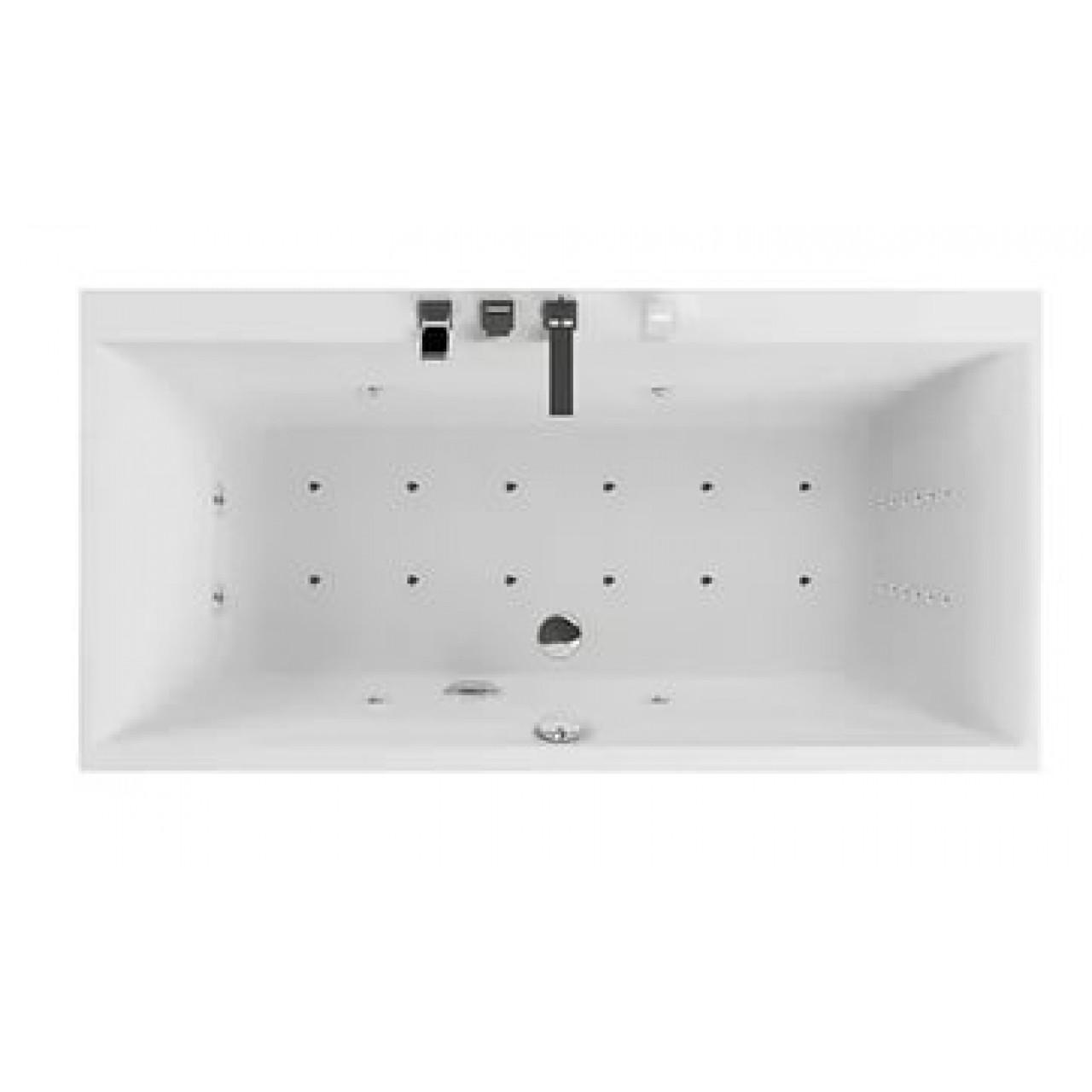 Акриловая ванна Акватика Армада 3D 180x90х68 купить в Москве по цене от 190520р. в интернет-магазине mebel-v-vannu.ru